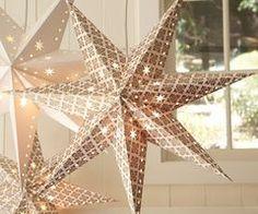 hanging star lights