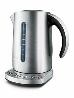 For the tea lover, the Breville Variable Temperature Kettle #BKE820XL ($129.99) may be just the splurge needed for that perfect cup of brew.