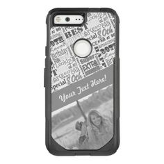 Special  80th Birthday Party Photo Monogram OtterBox Commuter Google Pixel Case - birthday gifts party celebration custom gift ideas diy