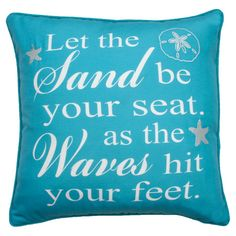 Let The Waves Pillow at Joss & Main