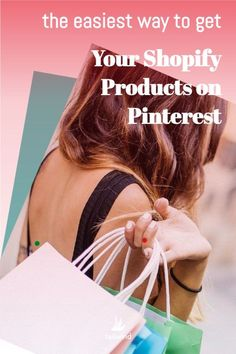 Adding Pinterest to Shopify is Super Easy! And we mean easy. It takes just a few clicks!Prior to the integration, Pinterest users had to do quite a bit of legwork on the backend of Pinterest and Shopify to get everything connected. From verifying your site with Pinterest to adding tags to your web code and importing your catalog – it could get tricky.But those days are behind us! Set-up happens in just a few clicks. Here's how to connect Pinterest to Shopify (read more).