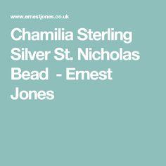 Chamilia Sterling Silver St. Nicholas Bead - Ernest Jones