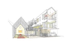 Courtyard House for Cambridge | Sarah Wigglesworth Architects