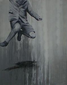 Black White Art, Painting, Art Gallery, Contemporary Art, Painting Art, Paintings, Painted Canvas, Drawings