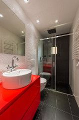 Baño   Proyecto de reforma Sta Coloma   Standal #reforma #integral #baño #interiorismo