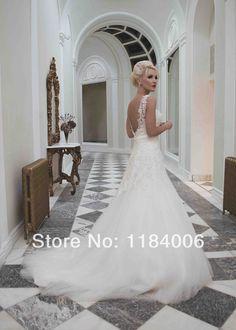 Free Shipping !! 2014 white/ivory A-Line seetheart wedding dress HK-846 $179.99