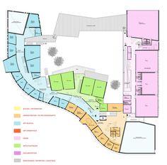 Art School – Carcassonne,Second Floor Plan
