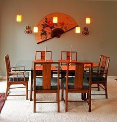 Asian Dining Room Design, Pictures, Remodel, Decor and Ideas - page 9