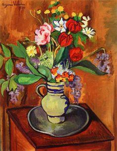 Vase of Flowers (1930)  -  Suzanne Valadon  #art #France pic.twitter.com/1gvn1gUYq4