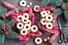 COOKING FOR PLEASURE - Новогоднее печенье с джемом