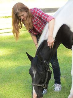 Daily interaction with our horses is one of our favorite features of our Residential #EatingDisorderTreatment Programs! Even if #EquineTherapy isn't scheduled for that day, we are always making the short walk to the pastures to visit!