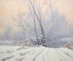 Marc Hanson - Frozen Hollow, acrylic