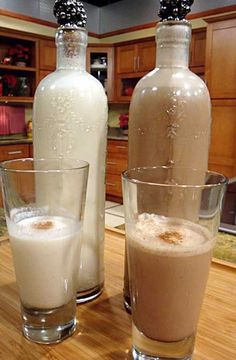 coquito!! my fave puerto rican drink!! can even make a chocolate one !! WHATTTTT!!