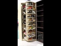 Rebuilding your master suite and renovating your closet? How about a Lazy Susan for your shoes?!!!