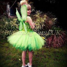 Disney Tinkerbell inspirado Tutu vestido por BloomingTutusUK