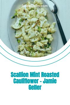 Simple roasted cauliflower is our go to easy side, but adding a little flavor throughout the different seasons will help set it apart. #side #glutenfree #pareve Vegan Vegetarian, Paleo, 5 Ingredient Recipes, Roasted Cauliflower, Fresh Mint, Quick Easy Meals, Glutenfree, Vegan Recipes, Stuffed Peppers