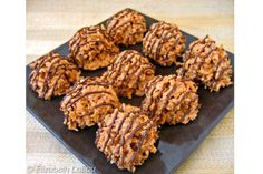 Butterscotch Haystacks are crunchy candies featuring the great taste of toasted coconut and smooth butterscotch chips.