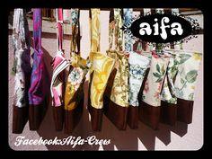 Colecção de malas primavera  peças unicas apenas 13 malinhas com tecidos #vintage http://aifacrew.blogspot.pt/2016/03/malas-primavera-2016.html #upcycling #bags