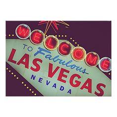 Las Vegas Bachelor / Any Party Invitation