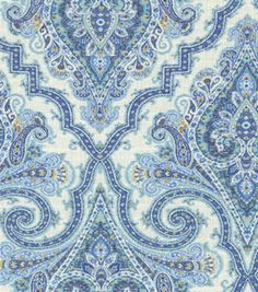 Home Decor Print Fabric-Waverly Anatalya/Aegean