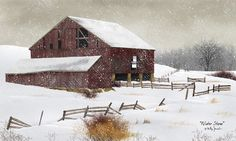 Want!: Glittered Winter Storm by artist Billy Jacobs