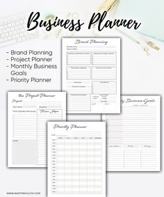 New Business Planner Organization Layout Ideas To Do Planner, Project Planner, Free Planner, Goals Planner, Planner Template, Planner Pages, Weekly Planner, Printable Planner, Fitness Planner