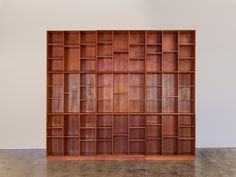 Modular Wall of Bookcases by Peter Hvidt