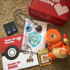15 Wonderfully Nerdy Subscription Boxes Every Culture Vulture Will Adore....gamer girl monthly