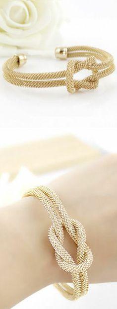 Love Knot Cuff Bracelet ♥