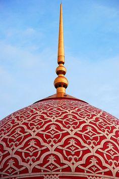 Putrajaya Mosque, (Malaysia).