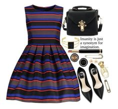 """Insanity is just a synonym for imagination"" by simona-altobelli ❤ liked on Polyvore featuring Gucci"
