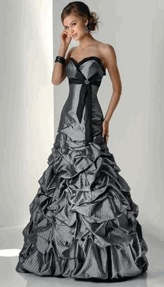 black wedding dress | Black wedding dresses 5 | My Wedding Dream