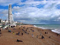 Brighton: Das Pier. Die Story im Reiseblog www.anderswohin.de dazu unter http://www.anderswohin.de/2012/09/brighton-vom-einstigen-glanz-der-piers.html