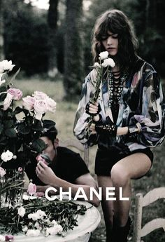 "maison-givenchy:  paperomance:  This will always be one of my favourite campaigns, simply because of Freja Beha Erichsen. Chanel without Freja is like 'Yves Saint Laurent' without the 'Yves' - it doesn't work and will never work.   I still don't see Saint Laurent as ""modern""oh well, Freja is beautiful"