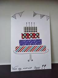 Afbeeldingsresultaat voor verjaardagskaarten maken diy