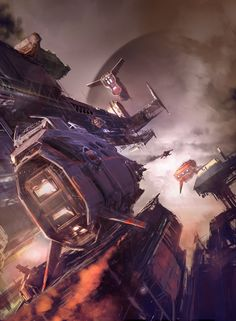 ArtStation - Haze, sparth .