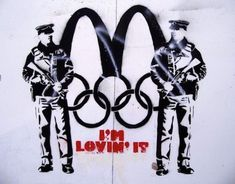 London Olympics 2012: Banksy and Other Street Artists Ready for the Olympics