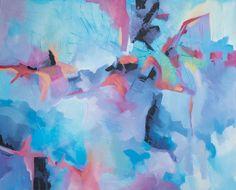Studio Plama na DaWanda - Abstrakcja - Rajskie Ptaki - ręcznie, na płótnie…