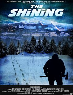 Poster de The Shining (El resplandor)