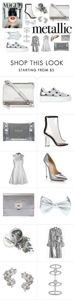 """""""Без названия #951"""" by m-gorodetskaya ❤ liked on Polyvore featuring Givenchy, Kenzo, Dermalogica, Markus Lupfer, Casadei, Proenza Schouler, 3.1 Phillip Lim, Elise Dray, Messika and Topshop"""