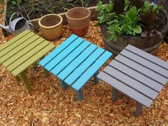 Looking for a small, wooden, rustic side table to place a cup or plate on when you're outdoors (or indoors)? Maybe you've purchased some of my colorful Laughing Creek wooden chairs and need an end table in a cool looking color to create an inviting atmosphere when entertaining or lounging?  Laughing Creeks pine wood side table can be your answer. Consider giving this as a gift that will bring colorful, useful enjoyment to the recipient for years!  Each handcrafted, craftsman style Laughing…
