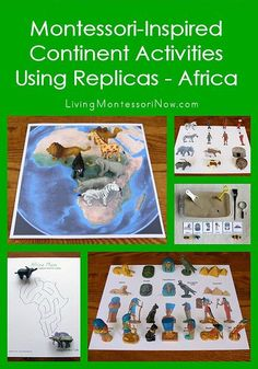 Today, I'm sharing some ideas for using Safari Ltd. animal figures and landmarks for the study of Africa.