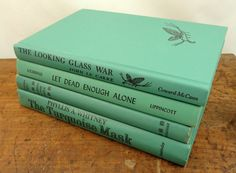 Vintage Jade Green Book Collection by APrettyBook on Etsy, $30.00