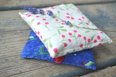 Lavender Sachets Cherry Fabric Sachets Lavender by kookyhandbags Lavender Buds, French Lavender, Lavender Sachets, Woolen Socks, Geometric Fabric, Retro Fabric, Lingerie Drawer, Fabric Patterns, Bed Pillows