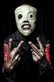 Corey Taylor of Slipknot and Stone Sour. I got to see this legend perform live with Slipknot on August 18, 2016 at The Forum in Inglewood, California.