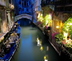 Late Night..  Venice, Italy
