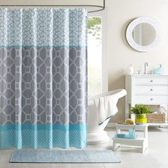 Intelligent Design Zara Shower Curtain | Overstock™ Shopping - Great Deals on ID-Intelligent Designs Shower Curtains