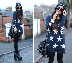 69462baefd Missguided Wildfox Lookalike Star Sweater