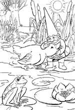 coloring page David the Gnome