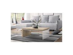 Konferenční stolek Modena, bílá/dub craft zlatý. Konferenční stolek Modena; Barva: bílá vysoký lesk/dub craft zlatý; Rozměry (š-d-v): 60 x 90 x 40 cm Outdoor Sectional, Sectional Sofa, Outdoor Furniture, Outdoor Decor, Home Decor, Modular Couch, Decoration Home, Room Decor, Corner Sofa